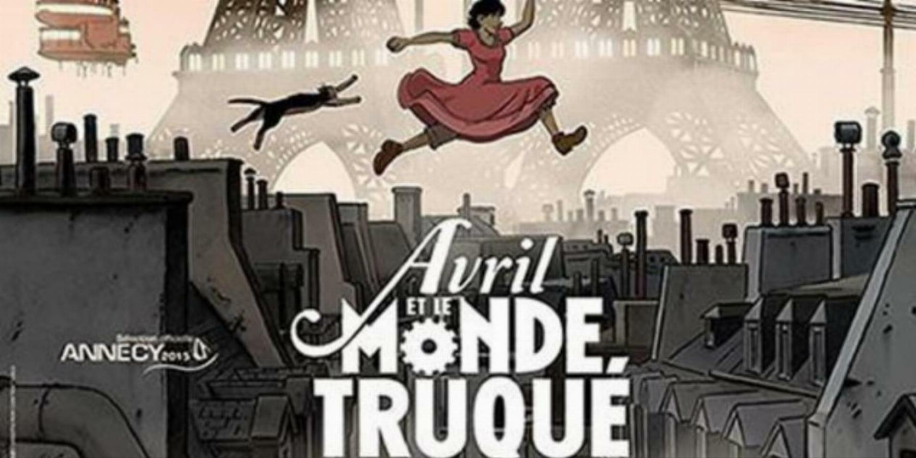 معرفی فیلم AVRIL ET le Monde Truqué