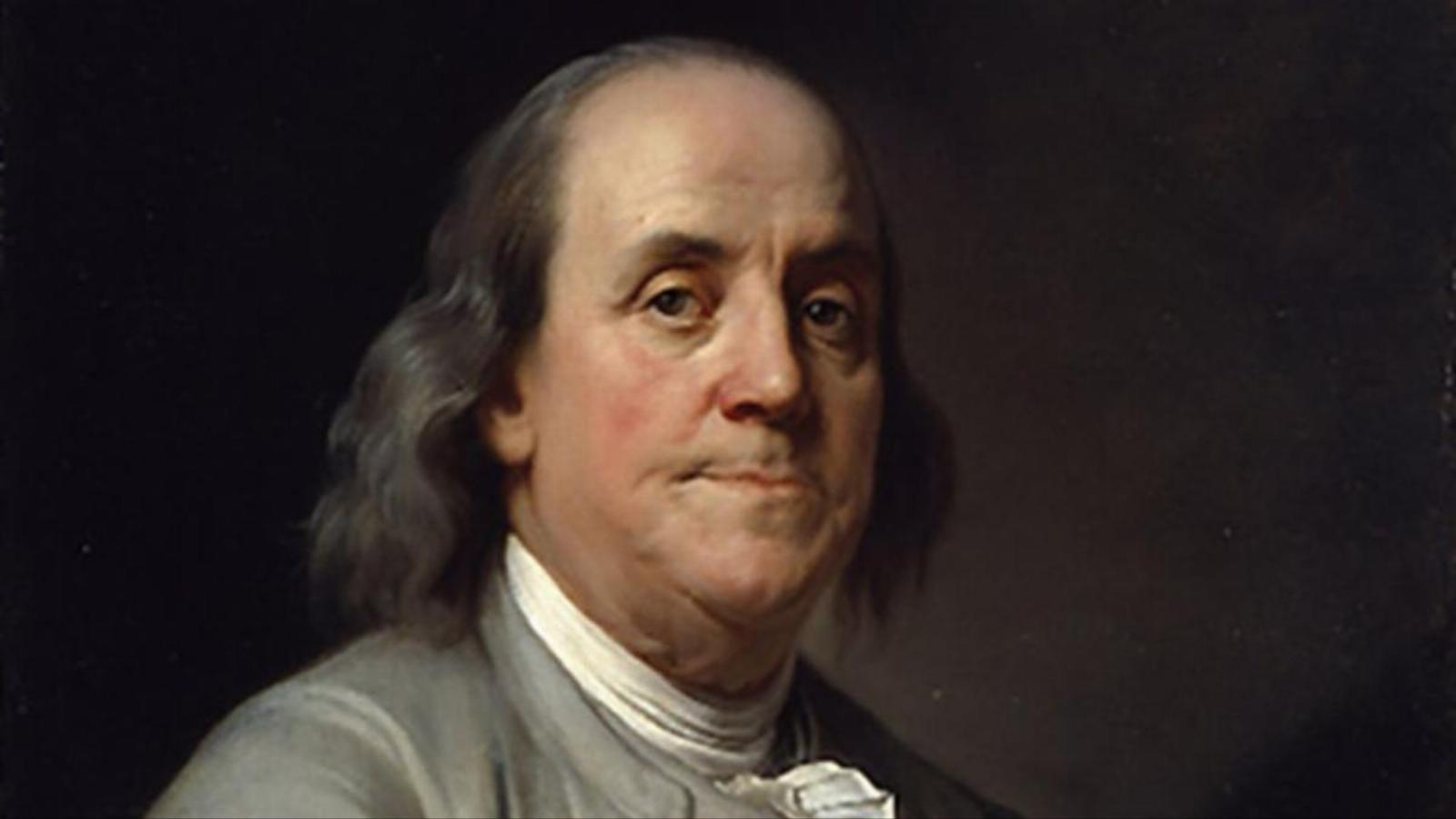 درگذشت بنجامین فرانکلین در سال 1790