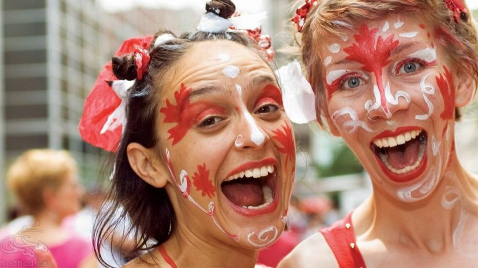 روز ملی کانادا و آلبوم تصاویر