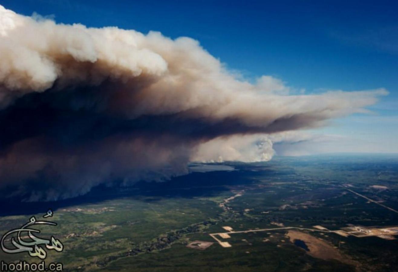 آخرین خبرهای آتش سوزی فورت مک موری: اژدهایی که بیدار شد
