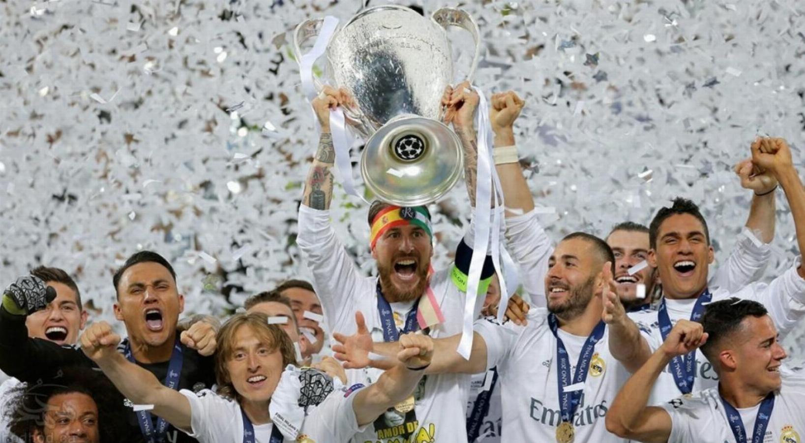 کهکشانی های رئال مادرید برای یازدهمین بار قهرمان اروپا شدند