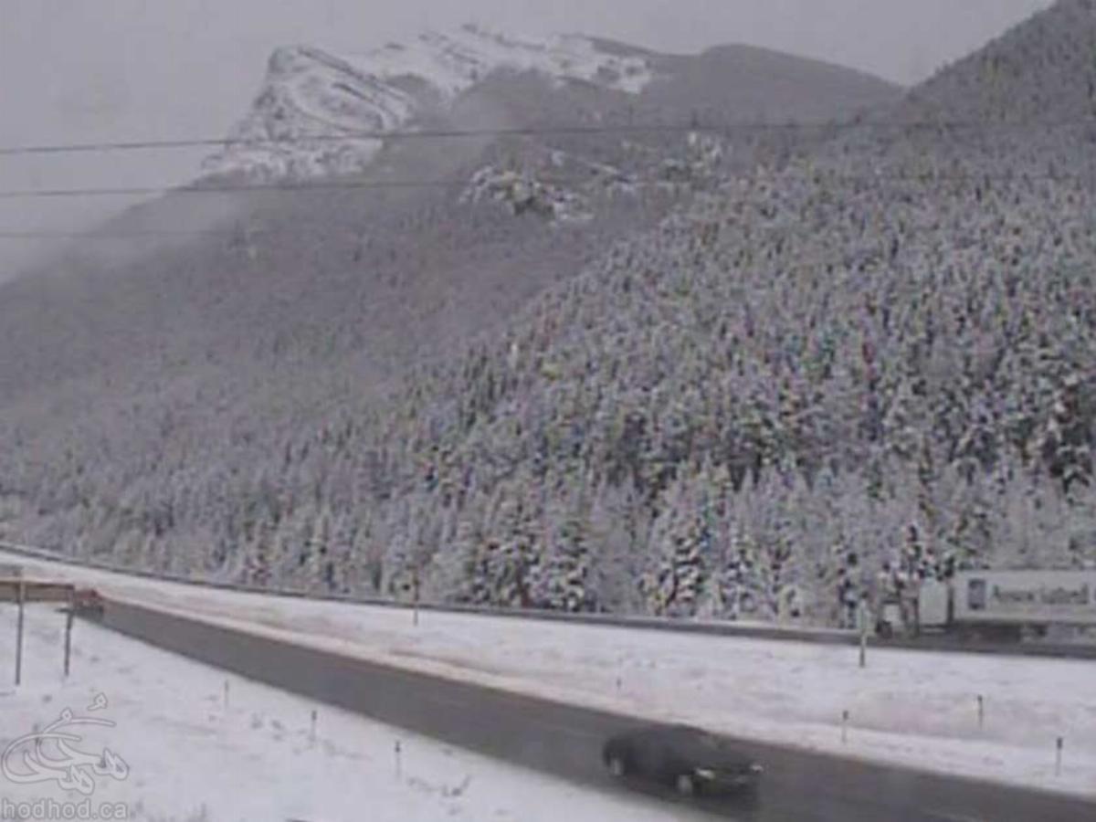 زمستان در تابستان: هشدار بارش برف در نزدیکی کلگری