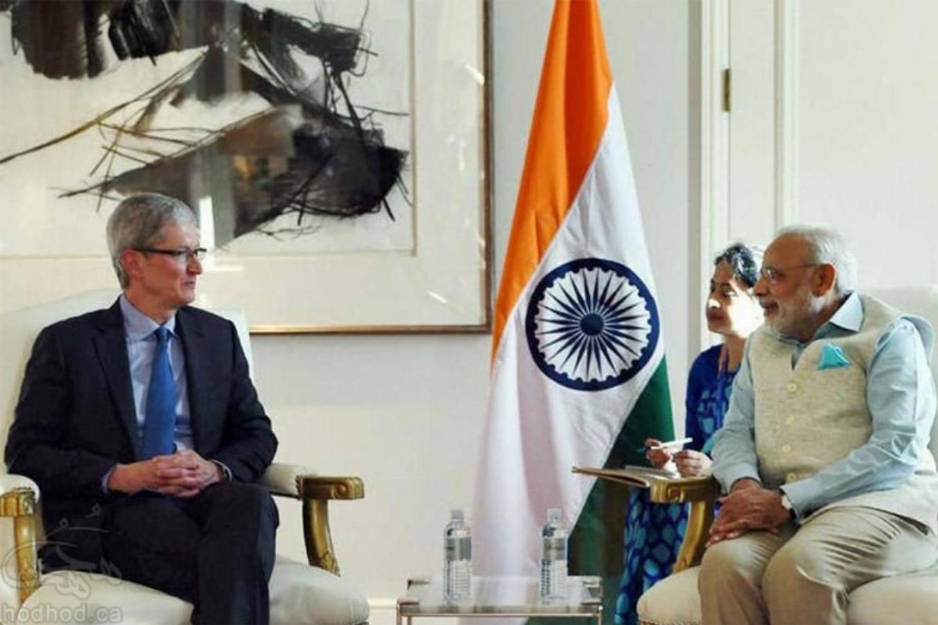 سفر تیم کوک مدیرعامل اپل به هند