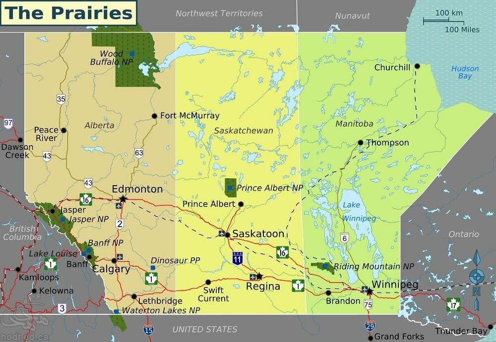 Prairies_map