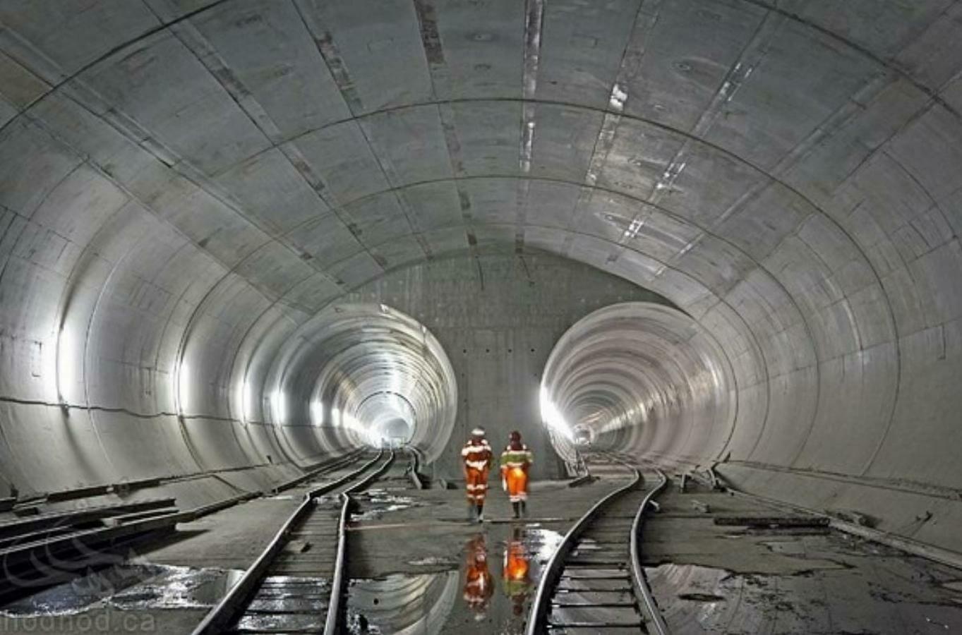 طولانی ترین تونل جهان افتتاح شد