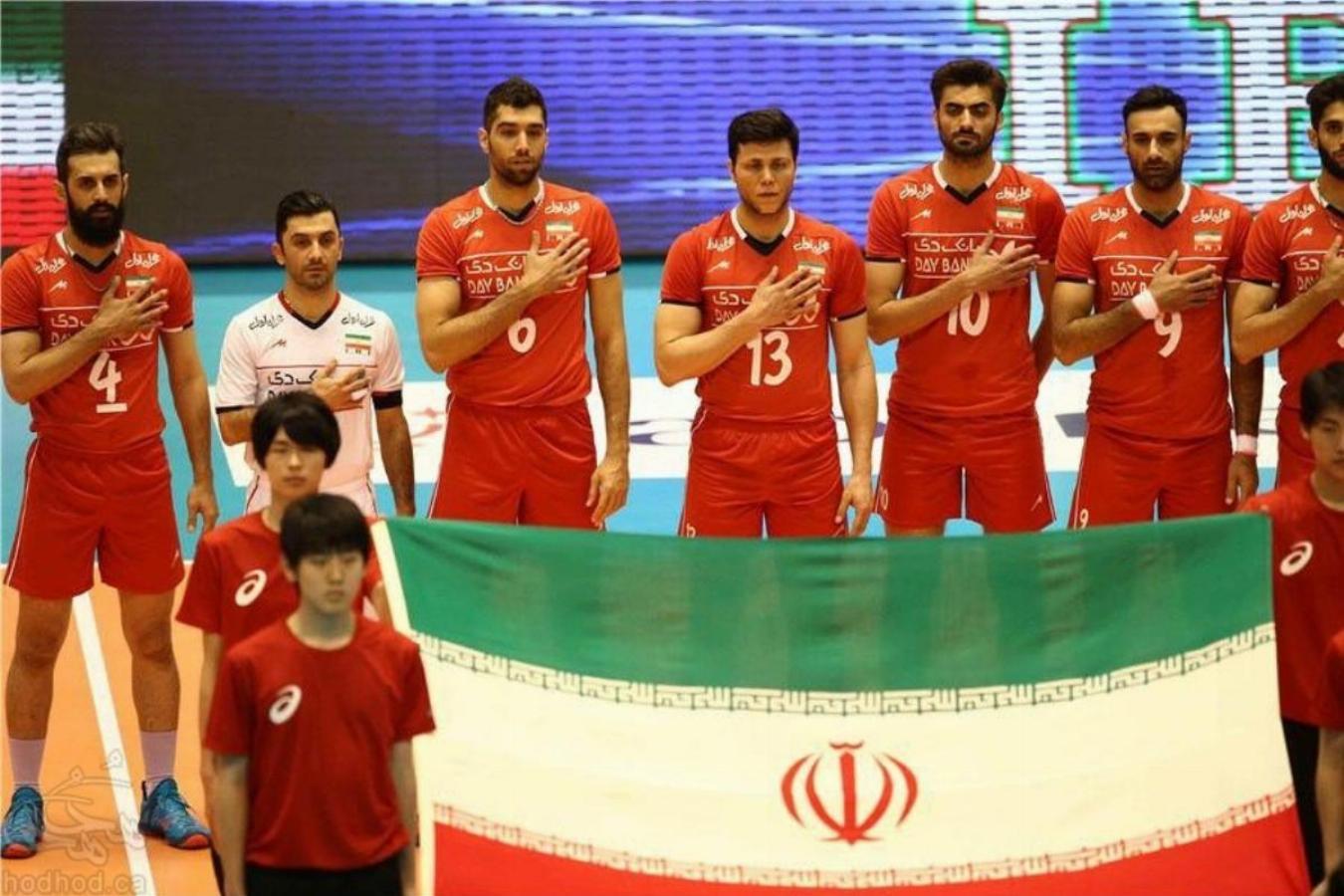 پیروزی تیم ملی والیبال ایران مقابل چین
