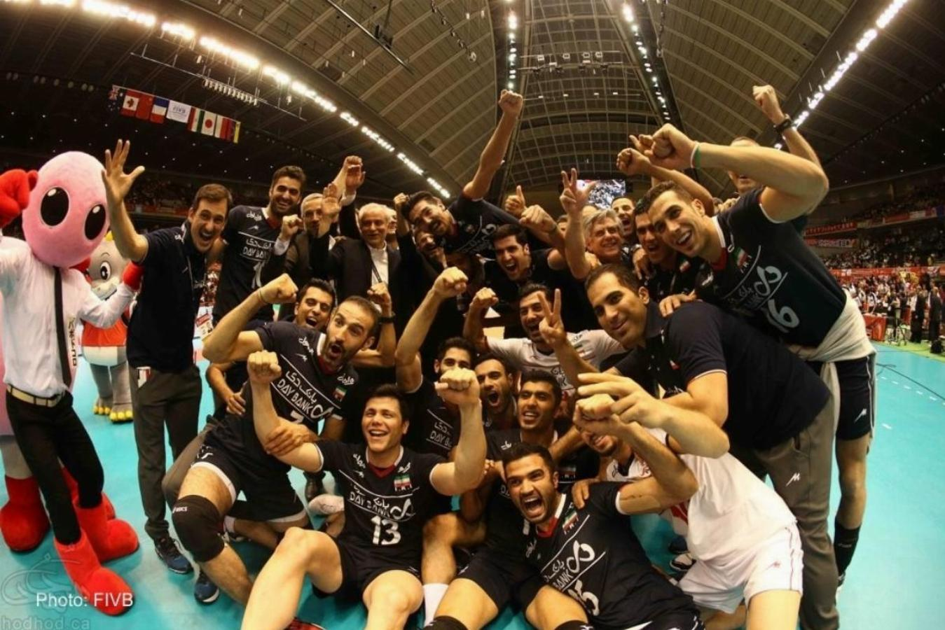 صعود تاریخی تیم ملی والیبال ایران به المپیک