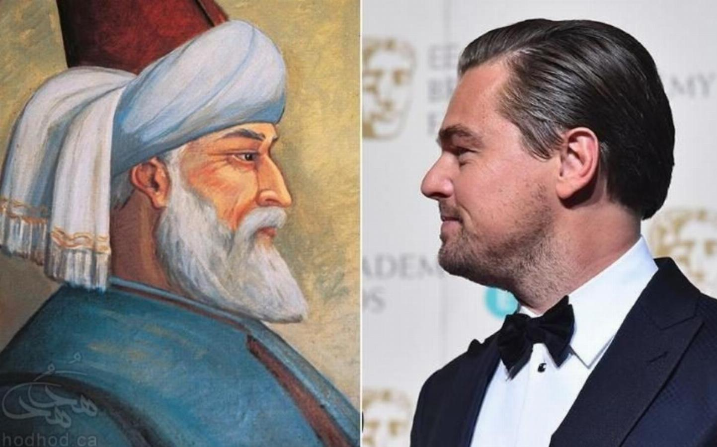 لئوناردو دی کاپریو در نقش مولانا شاعر فارسی زبان