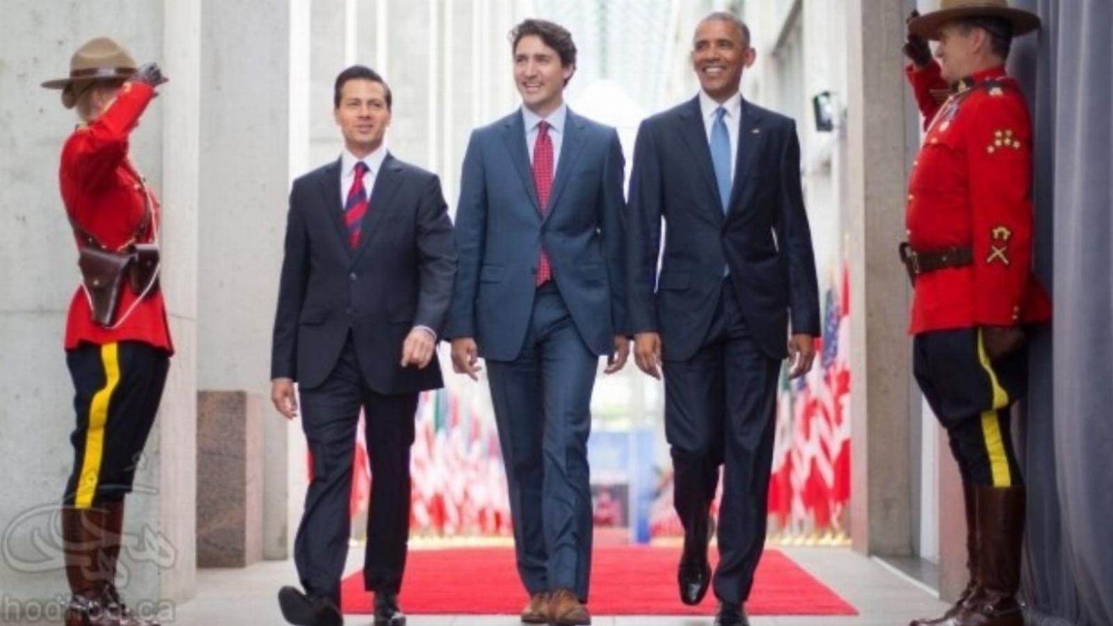 خبر فوری: باراک اوباما ساعاتی پیش وارد کانادا شد