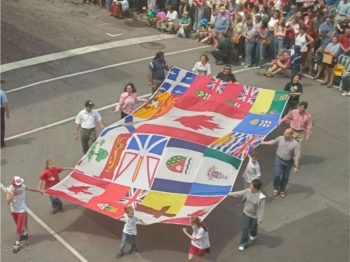 کاروان ایران در رژه سالانه روز کانادا و چرایی مشارکت حداقلی
