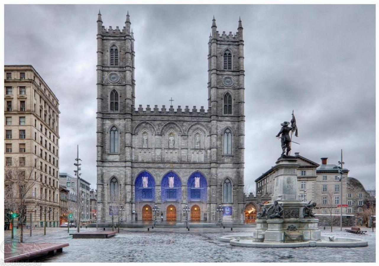 جاذبه های گردشگری کانادا: کلیسای نوتردآم
