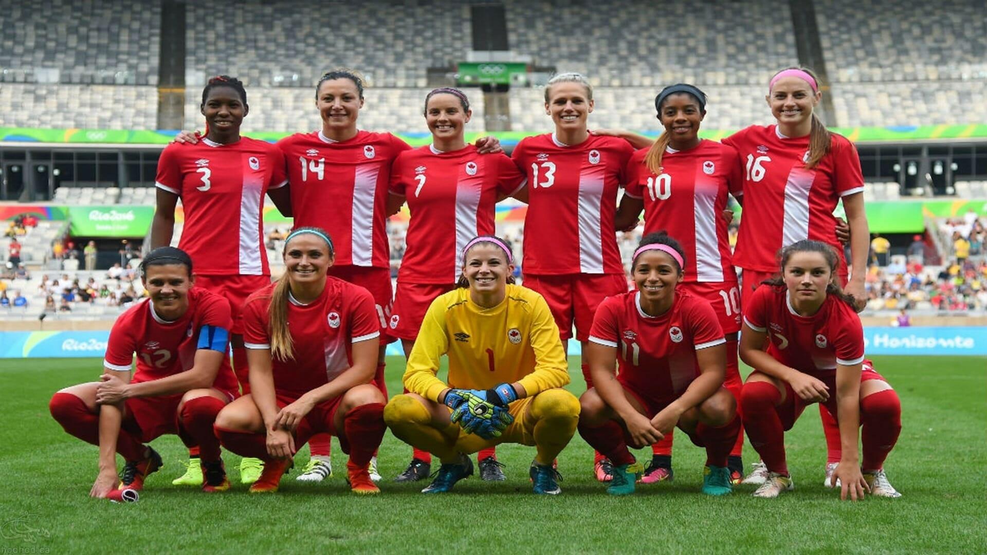 تیم فوتبال زنان کانادا با شکست دادن تیم قدرتمند برزیل به مقام سوم المپیک ریو رسید