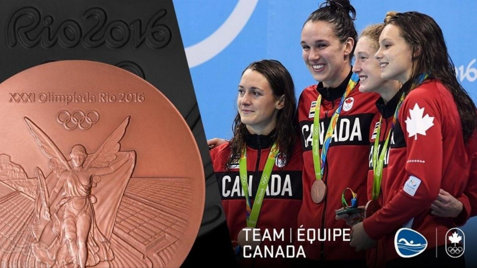 المپیک ریو 2016، نتایج تیم کانادا در اولین روز  و کسب اولین مدال