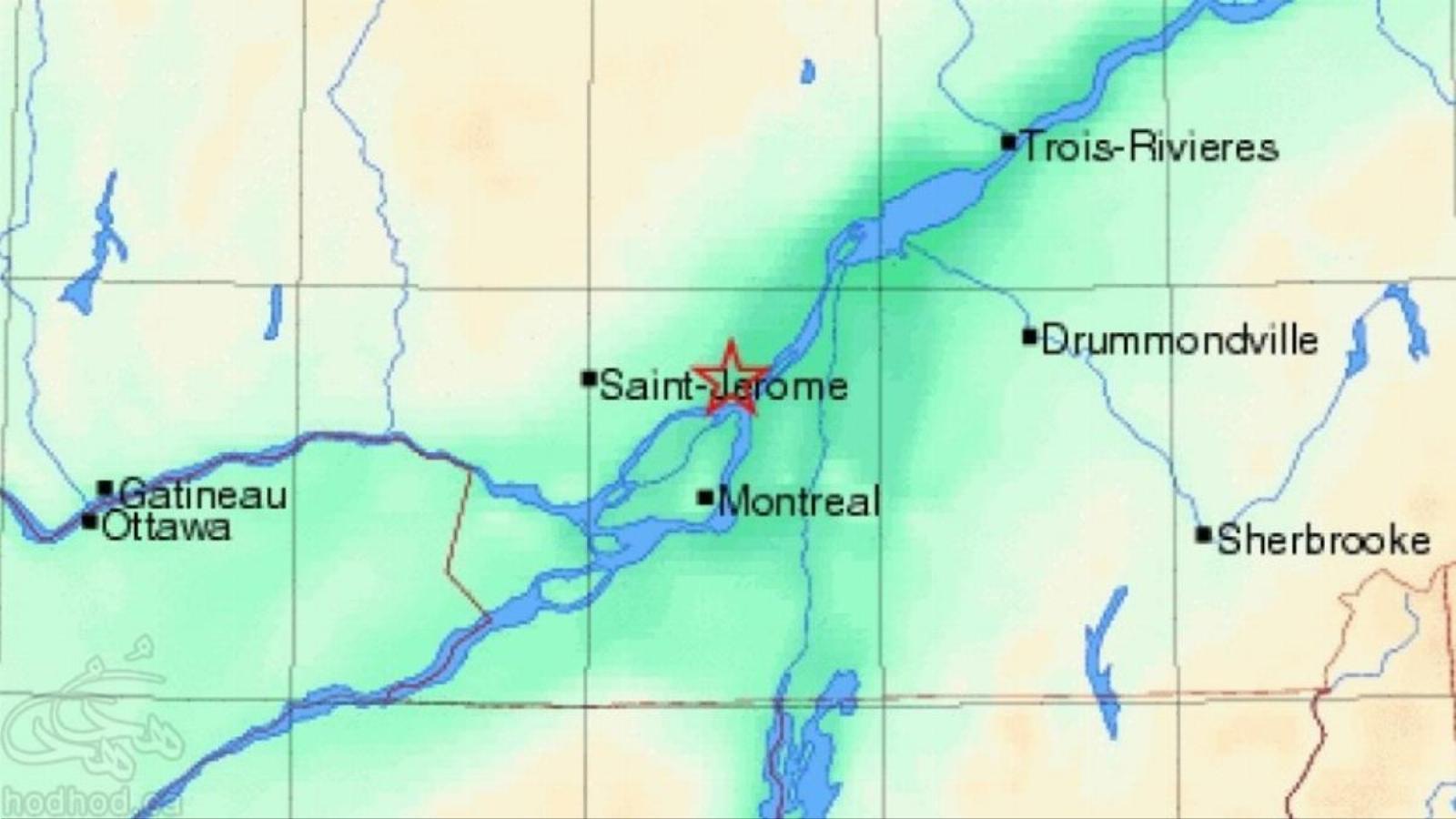 زلزله شب گذشته مونتریال و بیدار شدن حس شوخ طبعی مردم! مونتریال دومین شهر در خطر زلزله کاناداست