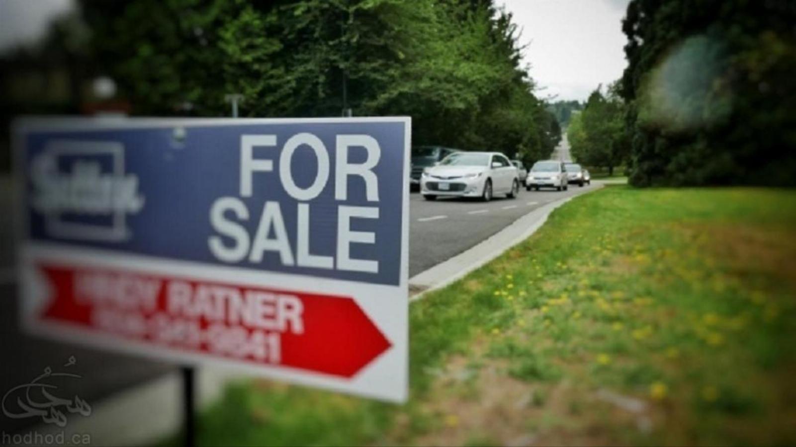علایم رکود در بازار مسکن ونکوور