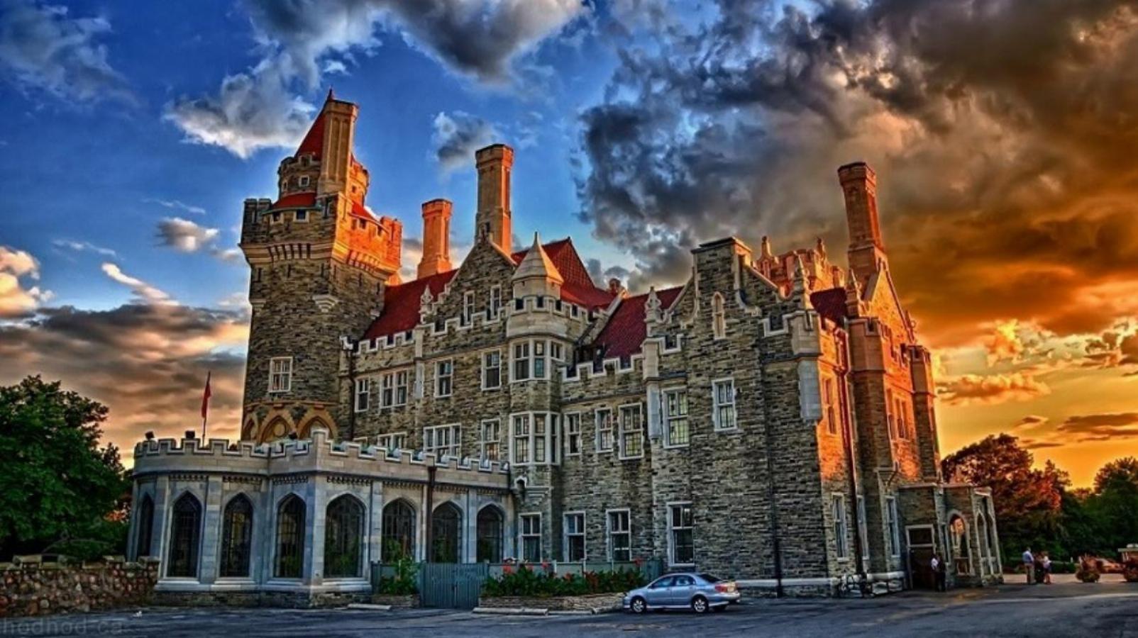جاذبه های گردشگری کانادا: قصر كازا لوما تورنتو