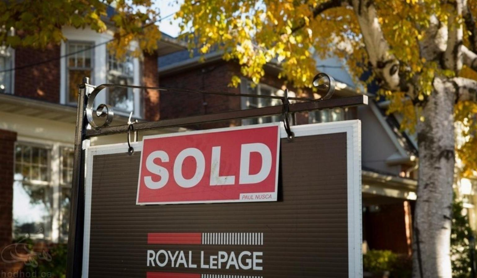 ثبت رکورد فروش املاک مسکونی در کانادا