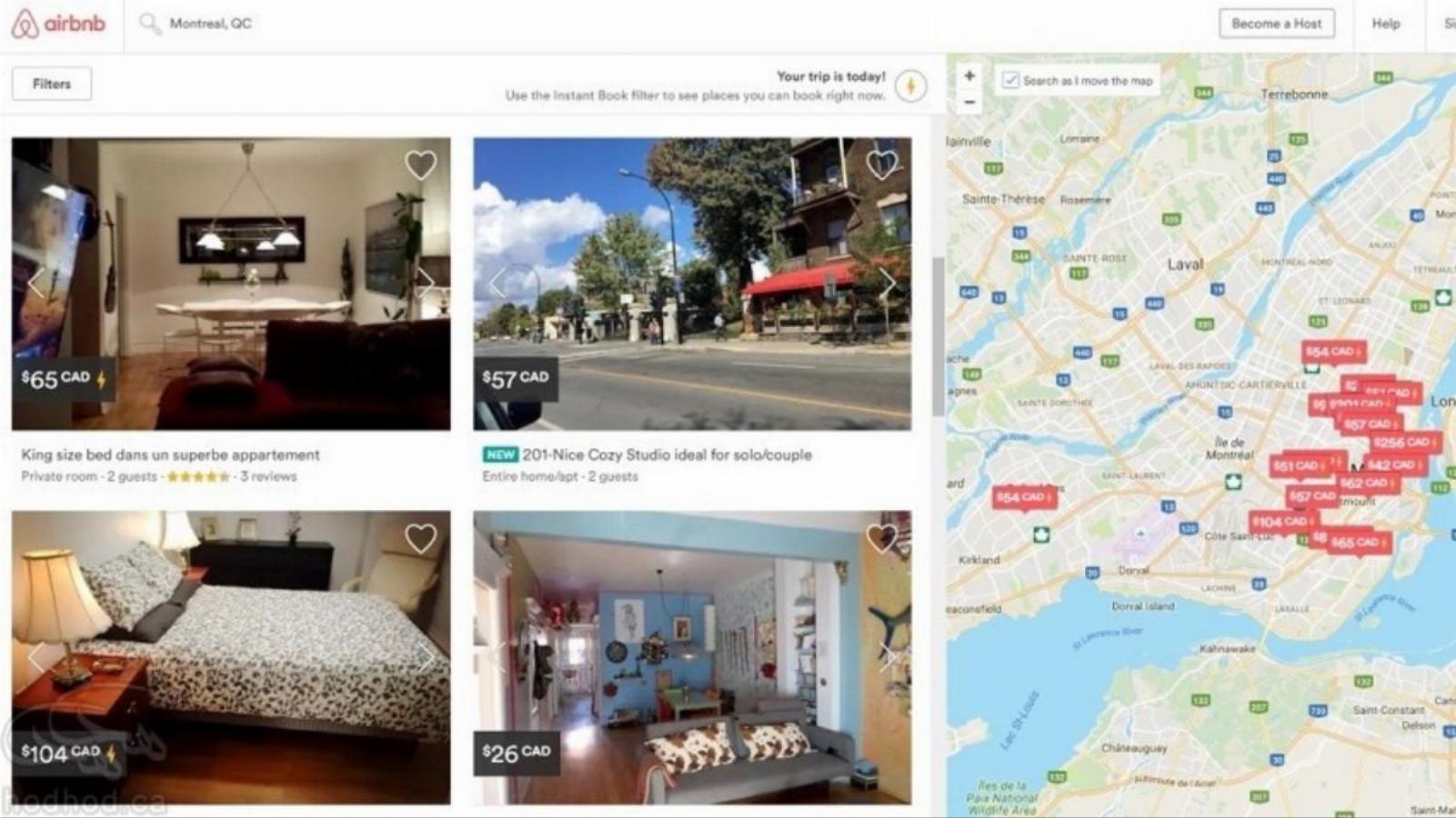 نظرسنجی شرکت Airbnb مبنی بر میزان رضایت مردم از خدمات اشتراک گذاری منازل