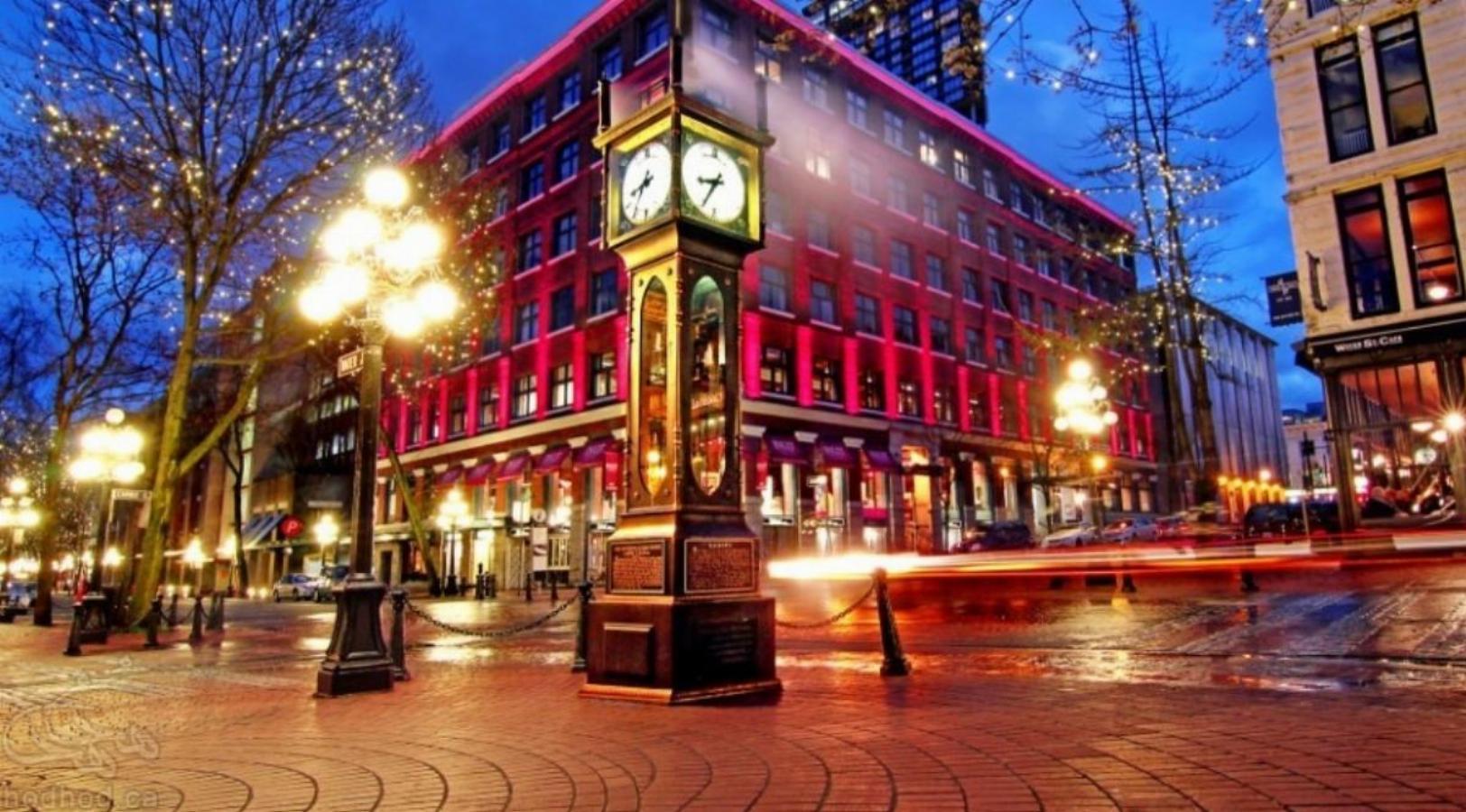 جاذبه های گردشگری کانادا: گاس تاون ونکوور